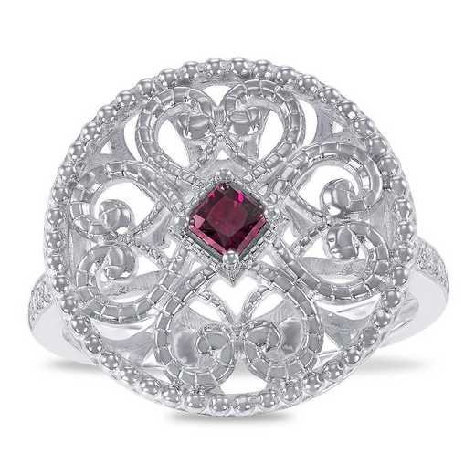Prelude Ennoble Filigree Ring with Zirconia from Swarovski®