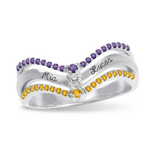 Halcyon Personalized Promise Ring