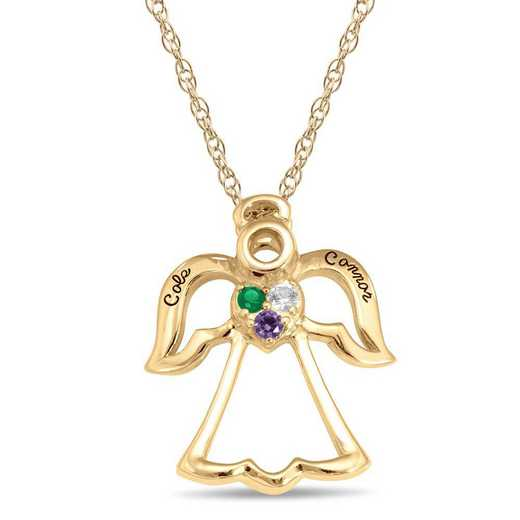 Haven Angel Personalized Pendant