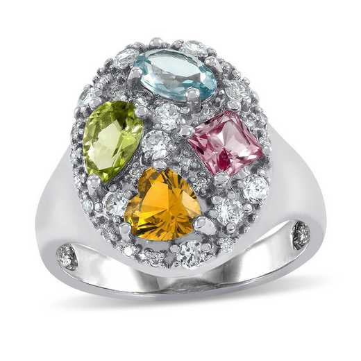 Orchid Personalized Ring