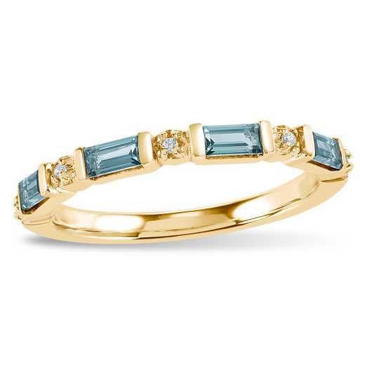 Touchstone Riley Stacking Birthstone Ring