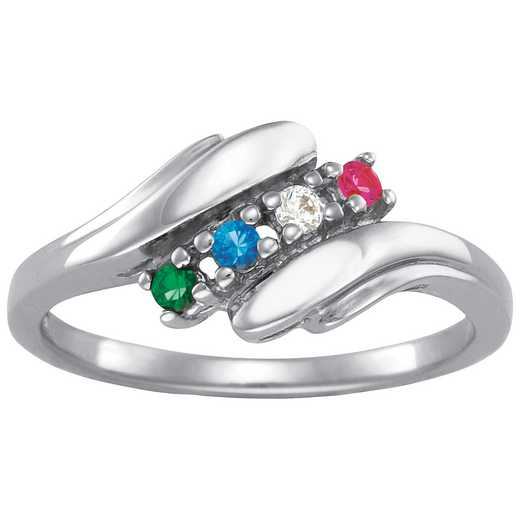 Personalized Four-Stone Ring: Allure