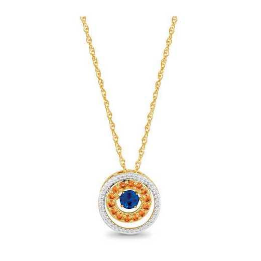 Glimmering Gems Alluring Pendant