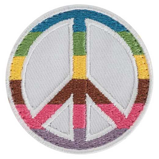 VP032: Rainbow Peace Sign