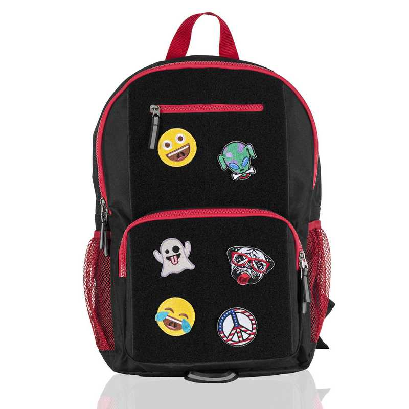 Limited: ID Backpack- Black/Red