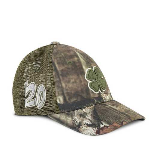 Black Clover 20 Hunt Lucky #6 Hat-Stretch Fit-Camo