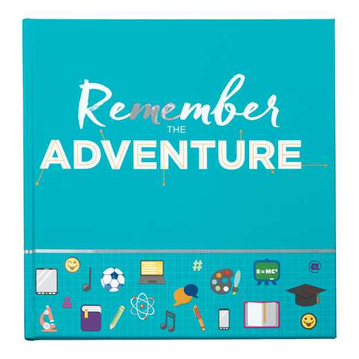 Other Grad Product: Remember the Adventure Memory Journal