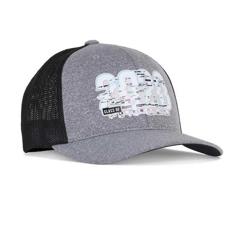 K022309: Hat-2020 Glitch Cap-Flexfit Trucker