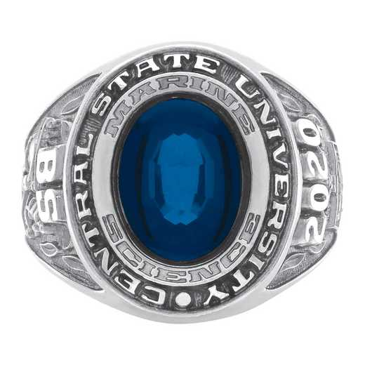 University of Nevada at Reno Men's Galaxie I Ring