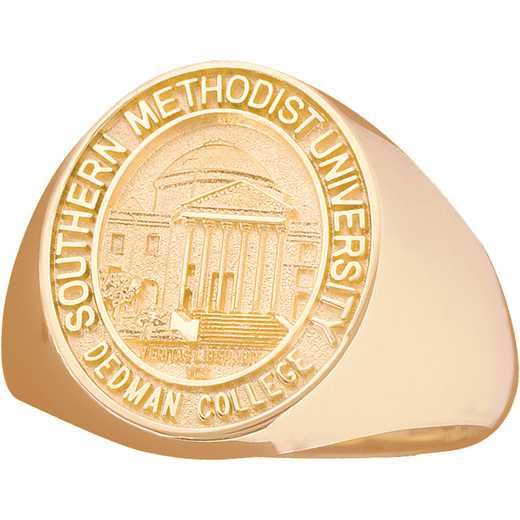 Southern Methodist University Men's Large Signet Ring