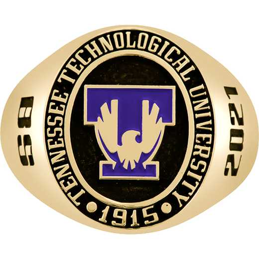 Tennessee Tech University Men's Large Round Signet Ring