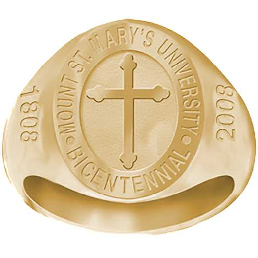 Mount Saint Mary's University Men's 2008 Bicentennial Signet Ring