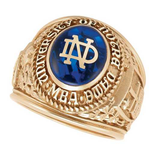 University of Notre Dame Men's B355L ND Ring