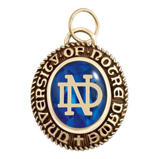 University of Notre Dame Women's B355L P ND Pendant