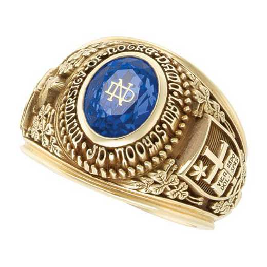 University of Notre Dame Men's B355M ND Ring
