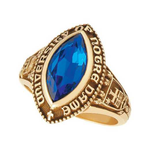 University of Notre Dame Women's B499D ND Ring