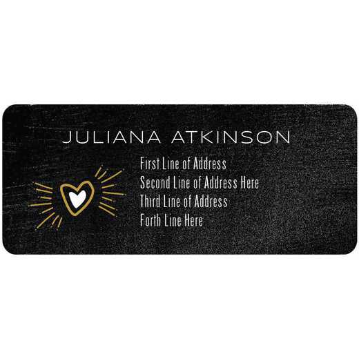 Custom Contemporary Address Labels