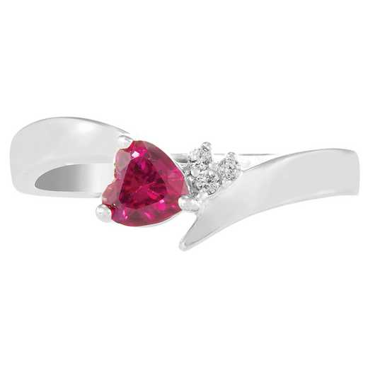 Women's Heart Promise Ring: Corazon Quick Ship