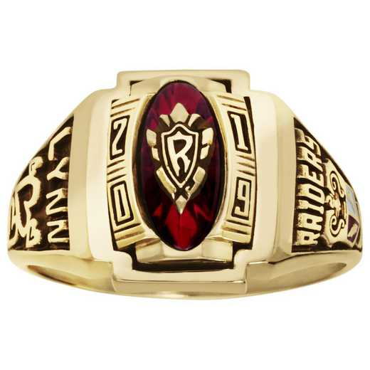 ArtCarved Women's Memory High School Class Ring