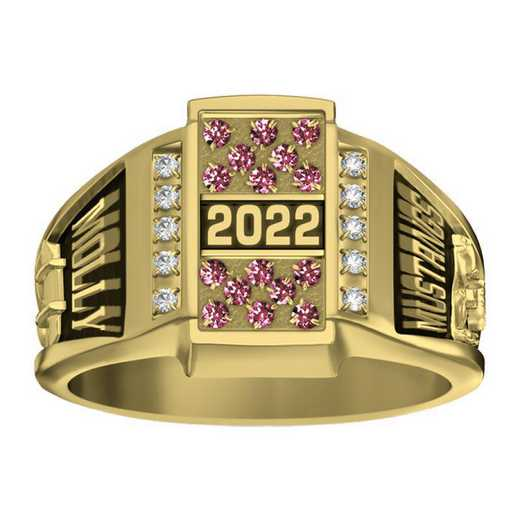 Women's Crest Premiere Plus High School Class Ring