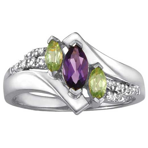 Mother's Three-Stone Marquise Ring: Dawning