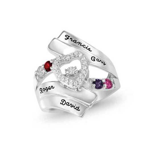 Glimmering Gemstones Dearest Ring