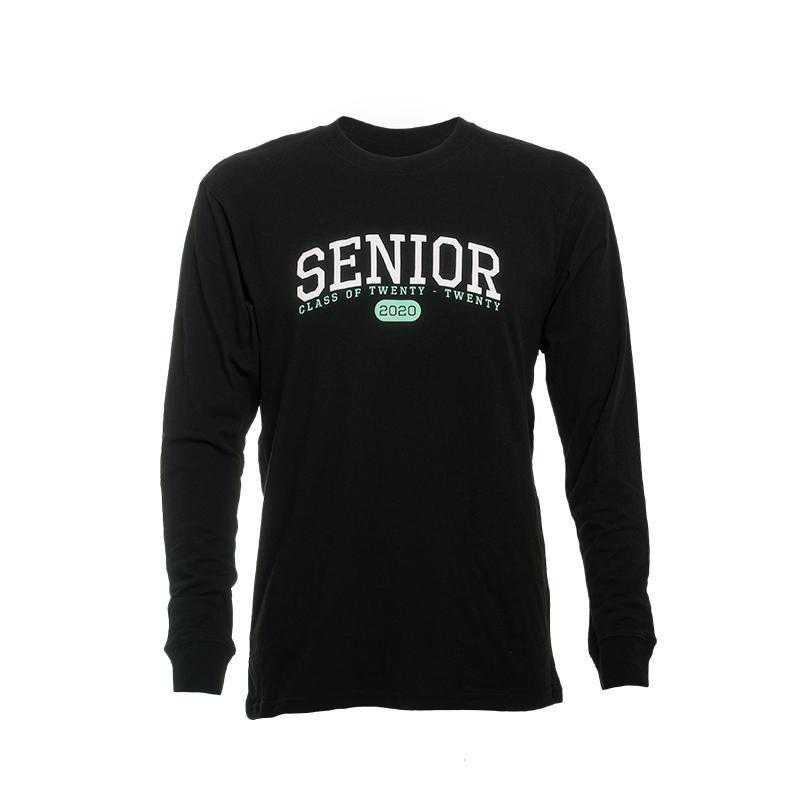 Essential Long Sleeve T-Shirt- Black