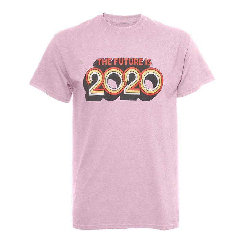Future Is 2020 T-Shirt-Purplish Pink