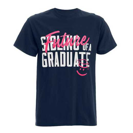 Future Sibling Grad T-Shirt-Navy