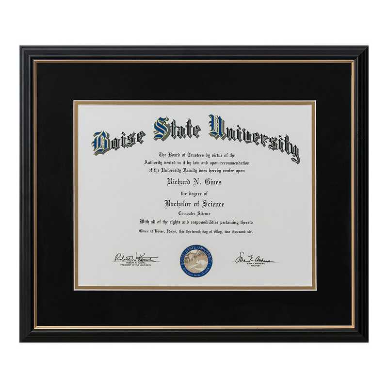 Limited: Diploma frame 8.5X11