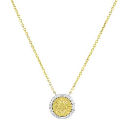 Official Girl Scout Gold Award Coin Pendant