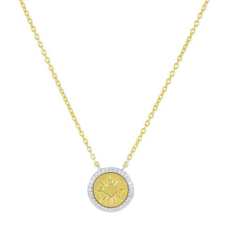 Official Girl Scout Gold Award Coin Pendant