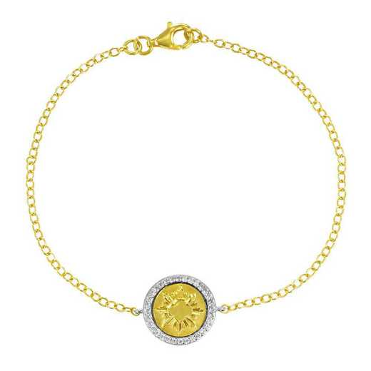 Official Girl Scout Gold Award Coin Bracelet