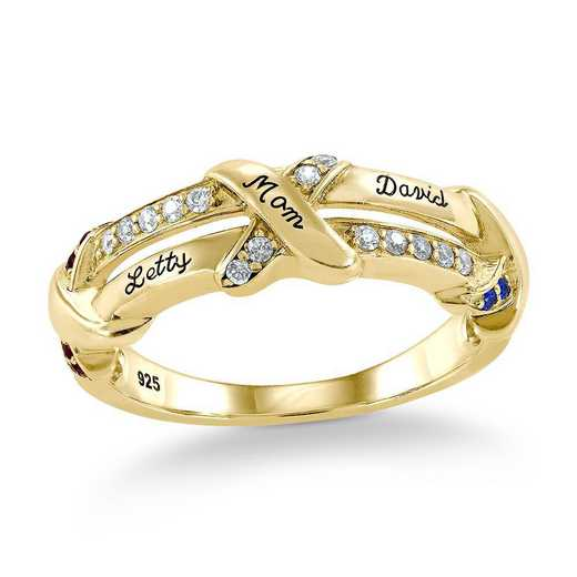 Gleam Personalized Ring
