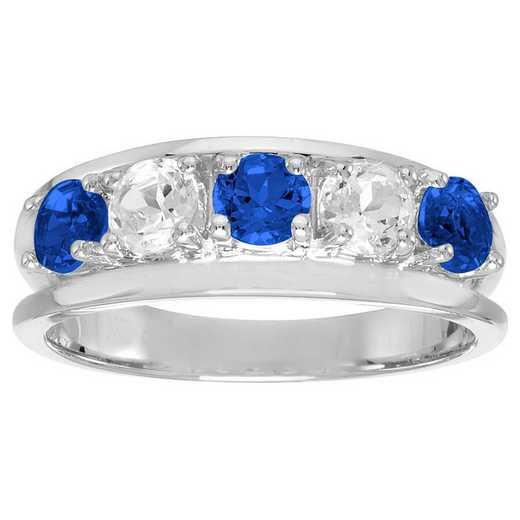 Ladies' Sterling Silver Multi-Stone Birthstone Ring: Glory