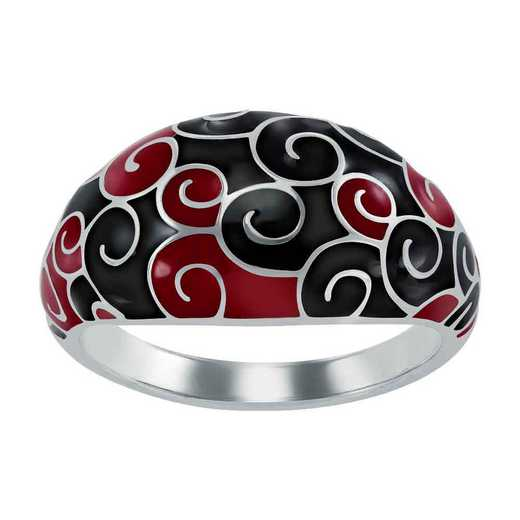 Ladies' Teacher Swirl Dome Ring