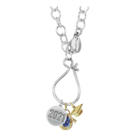 Personalized Graduation Charm Necklace
