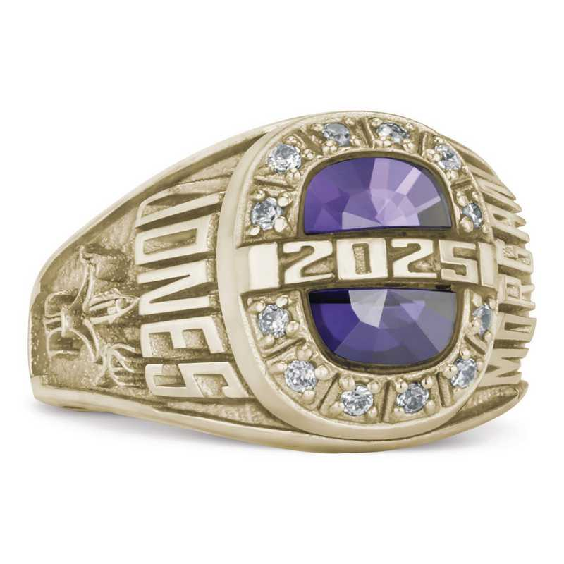 Women's I63 Prevail Identity Class Ring