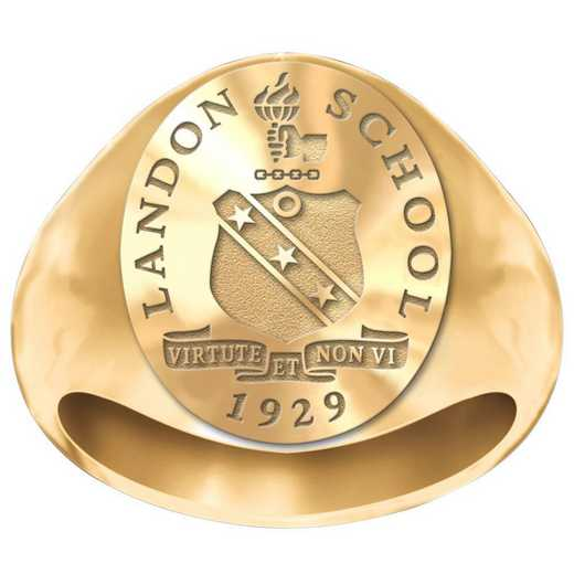 Landon School Signet Ring