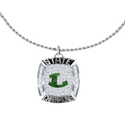 1821-4XP: Longview Lobos 6A Championship Fan Pendant
