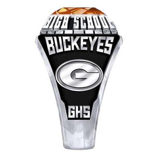 Men's Gilmer High School Official Ring