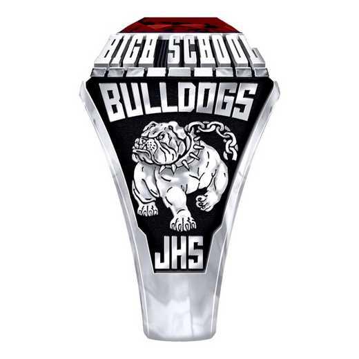 Men's Jefferson High School Official Ring