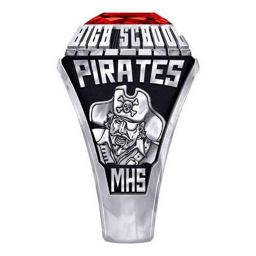Men's Martinsville High School Official Ring