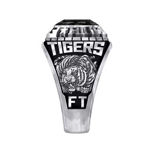 Women's Fort Towson High School Official Ring