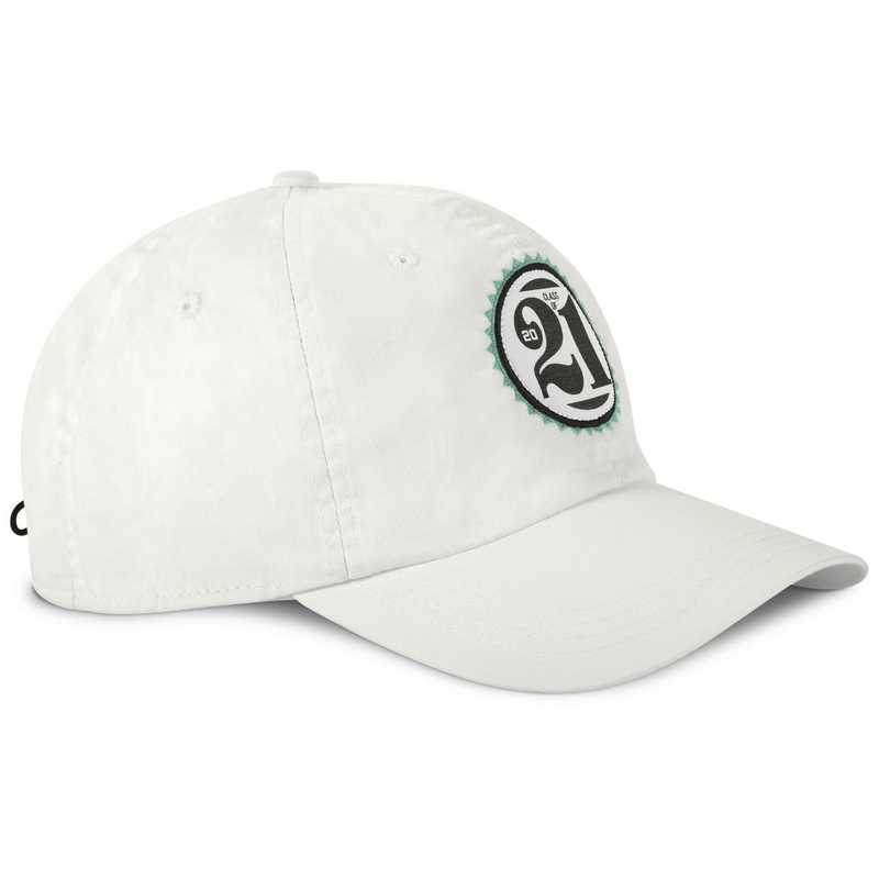 Hat_Ahead: Ahead Class of Adjustable Hat (White)