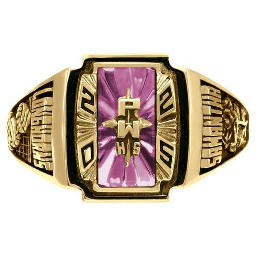 Women's Art Deco Class Ring - Heirloom