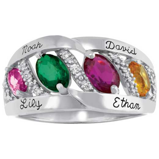 Mother's Personalized Heritage Ring