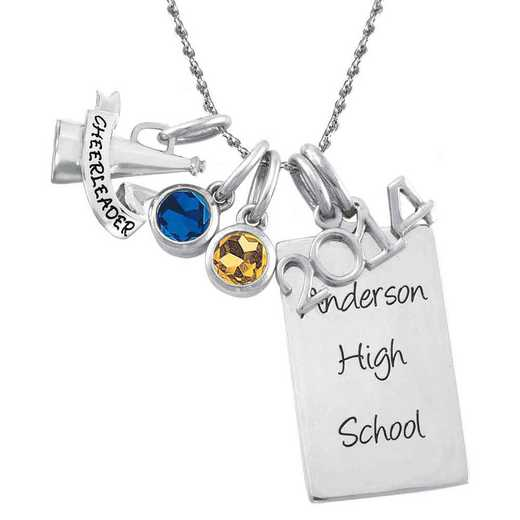 High School Days Charm Pendant