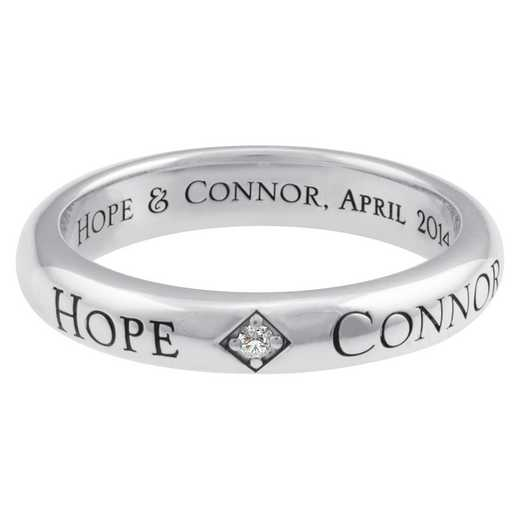 Men's Personalized Promise Band: Hope