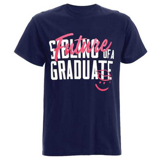 Sibling Future Graduate 2021 T-Shirt, Navy